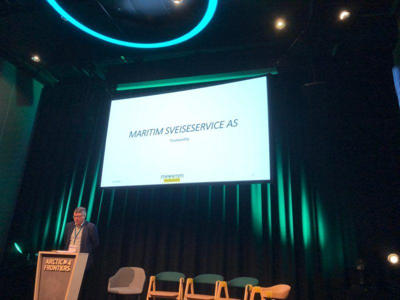 Energiklyngen representert på Arctic Business Matchmaking under Arctic Frontiers 2
